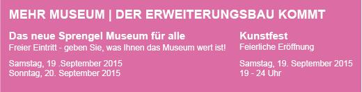Sprengel Museum Hannover Erweiterungsbau